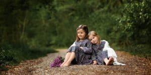 Kinderfotografie Wald Weg Geschwister | Fotograf bilderschlag Erfurt