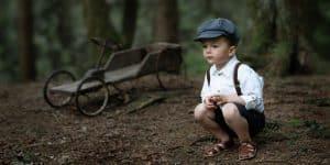 Kinderfotografie Seifenkiste Wald | Fotograf bilderschlag Erfurt