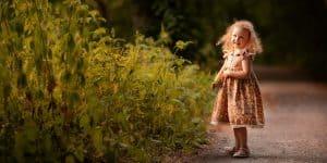 Kinderfotografie Wald