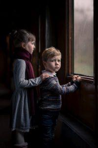 Kindershooting Polar Express Zug | Kinderfotograf bilderschlag Erfurt
