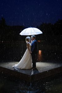 Hochzeitsshooting Regen Schirm Erfurt