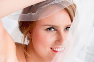 Braut im Schleier | Hochzeitsfotograf bilderschlag Erfurt