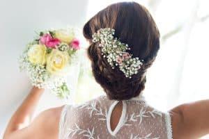 Brautstrauß im Getting Ready | Hochzeitsfotograf bilderschlag Erfurt