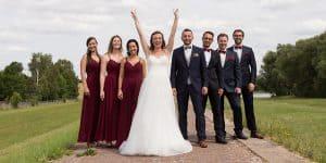 Hochzeitsshooting Brautpaar Brautführer | Hochzeitsfotograf bilderschlag Erfurt
