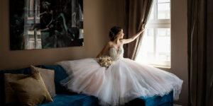 Braut wartet